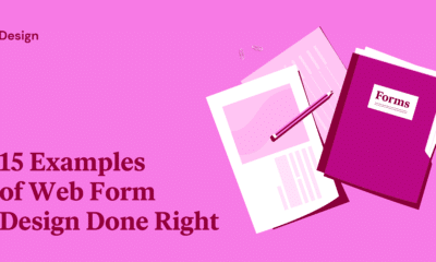 15 Examples of Web Form Design Done Right
