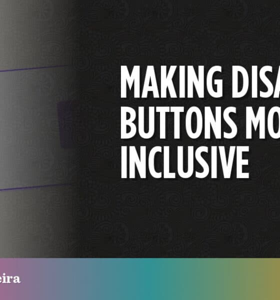 Making Disabled Buttons More Inclusive