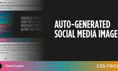 Auto-Generated Social Media Images