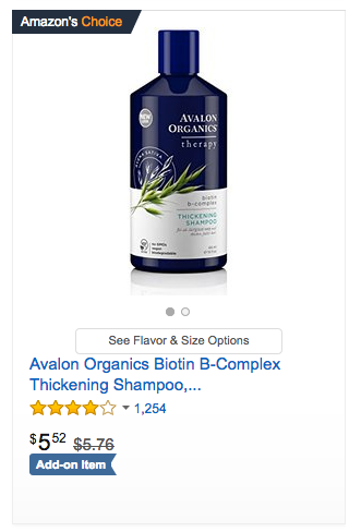 Amazon Choice Badge on Amazon