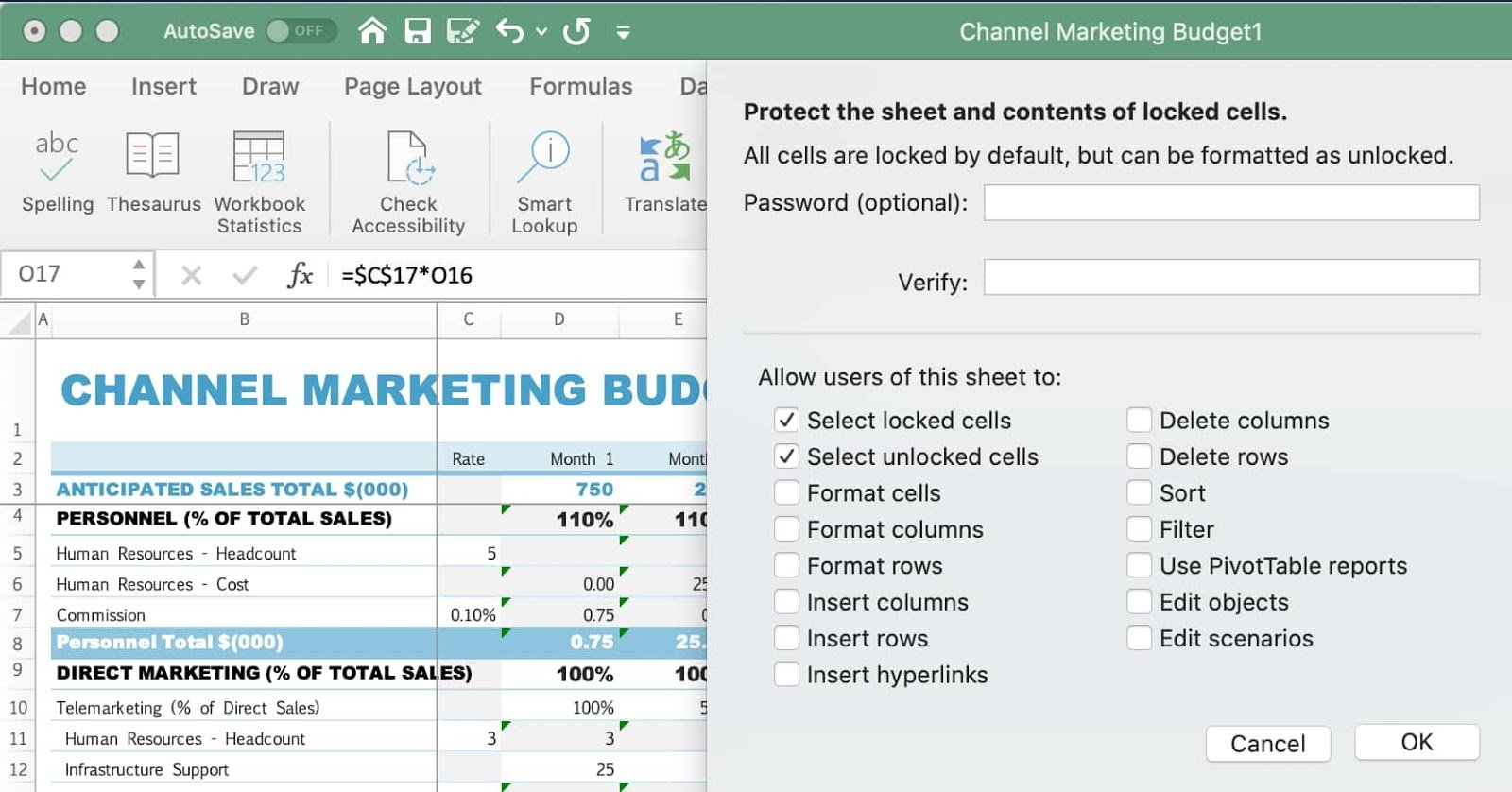 Running Into Issues in Shared Excel Sheets Learn How to Lock ...