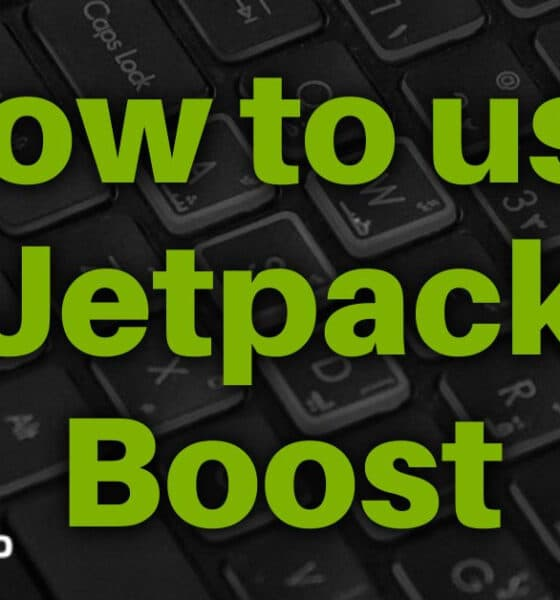 How to use Jetpack Boost to Improve your Sites Load Times