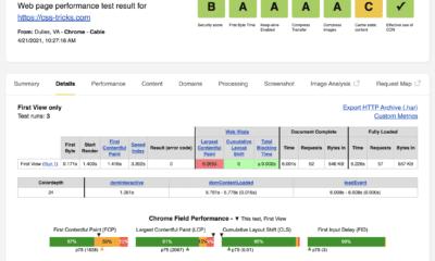 WebPageTest API