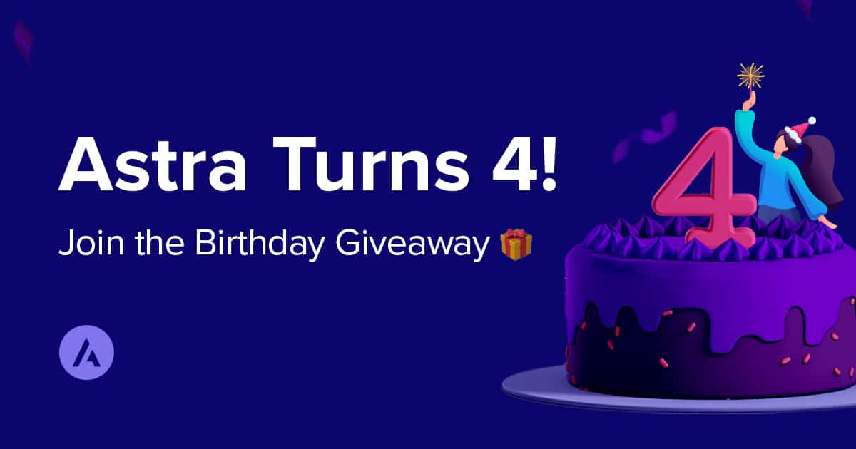 Astra is 4 Years Old Today! Celebrate With Us! ( Giveaway)