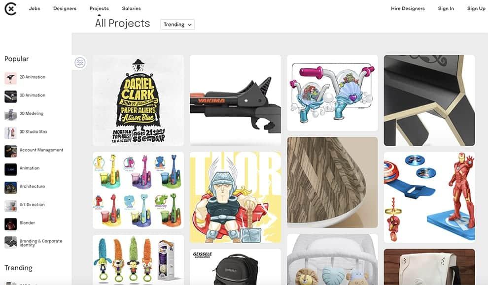 coroflot free online portfolio