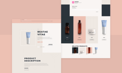 Download a FREE Product Page Template for Divi's Beauty Product Layout Pack