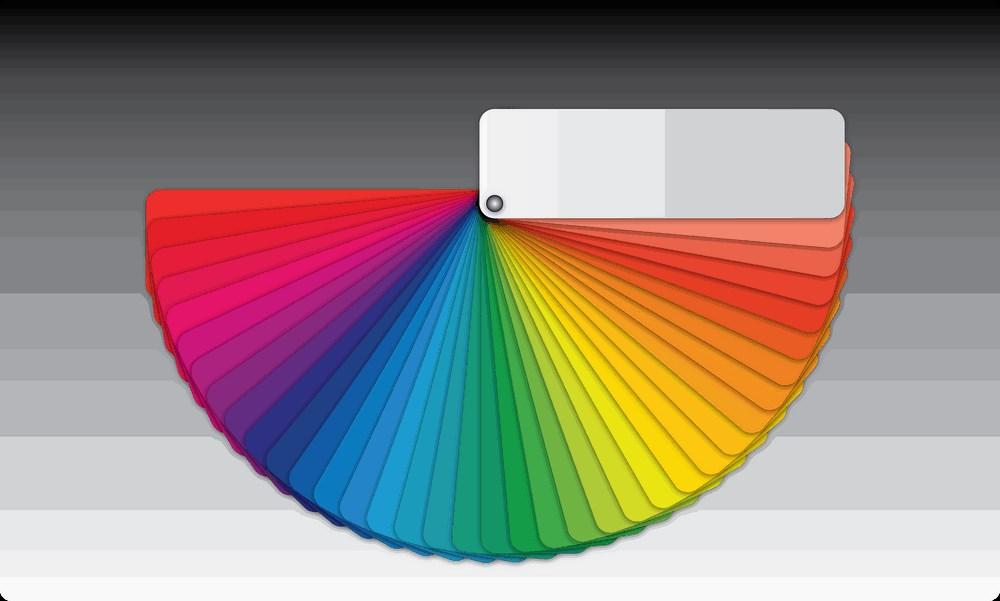 use the right colour scheme