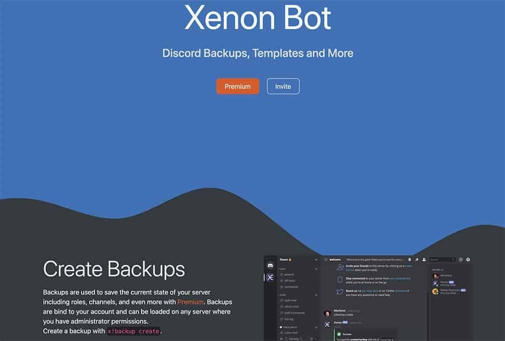 xenon bot