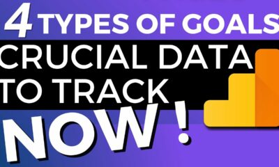 4 Types Of Goals In Google Analytics  Crucial Data To Track Now
