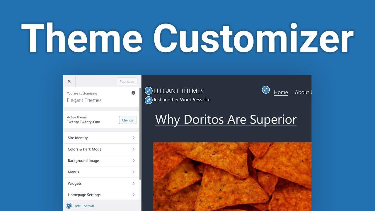 How to Use the WordPress Theme Customizer
