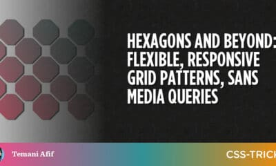 Hexagons and Beyond: Flexible, Responsive Grid Patterns, Sans Media Queries