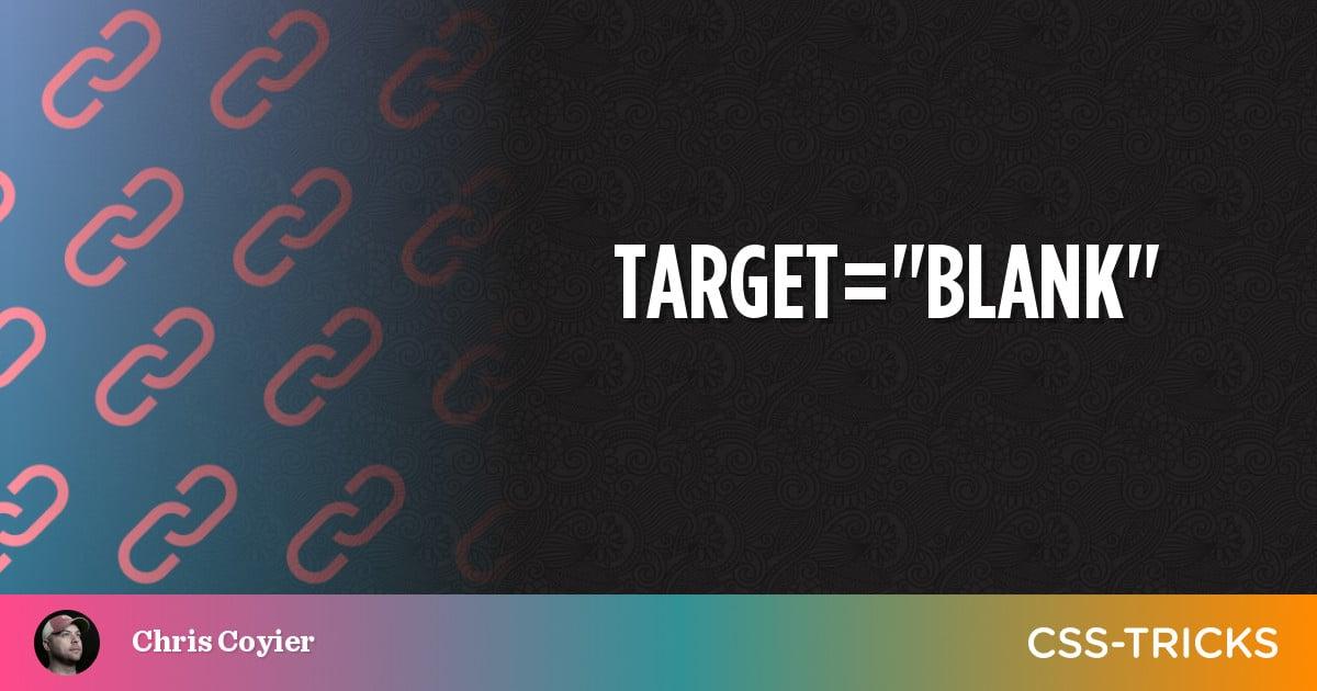 target=blank