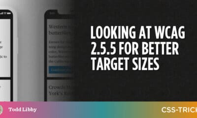 Looking at WCAG 2.5.5 for Better Target Sizes