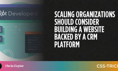 Scaling Organizations Should Consider Building a Website Backed by a CRM Platform