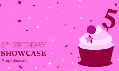 Elementor Birthday Showcase: Top 5 Dessert Websites