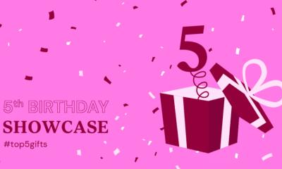 Elementor Birthday Showcase: Top 5 Gifts Websites