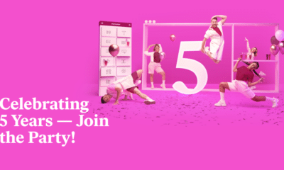 Party Time! Celebrate Elementor's 5th Birthday With up to 50% Off