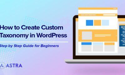 How to Create a Custom Taxonomy in WordPress