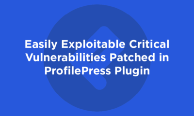 Easily Exploitable Critical Vulnerabilities Patched in ProfilePress Plugin