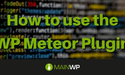How to use the WP Meteor Plugin on your Site