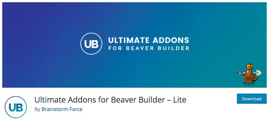 Ultimate Addons for Beaver Builder lite WordPress plugin
