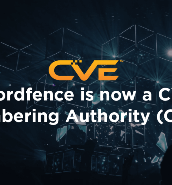 Wordfence is now a CVE Numbering Authority (CNA)
