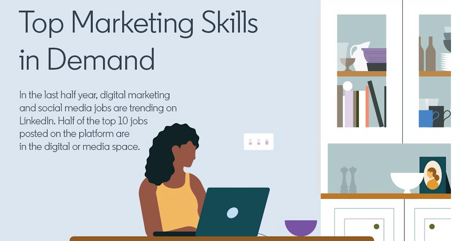LinkedIn Lists Top 10 In-Demand Marketing Skills via @sejournal, @MattGSouthern