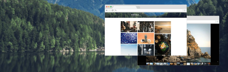Easy Photography Portfolio, a WordPress portfolio plugin.