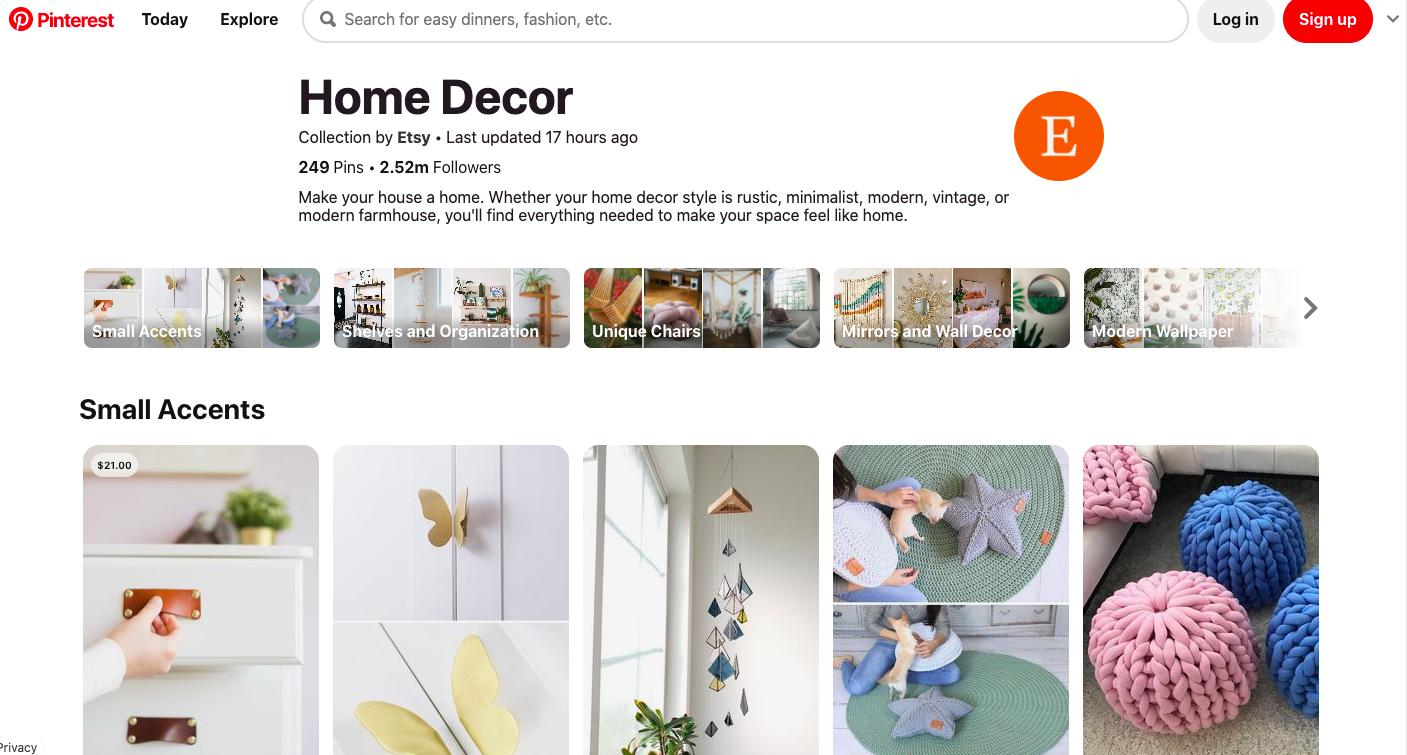 Home Decor Pinterest Board