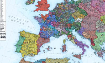 Explore this Fascinating Map of Medieval Europe