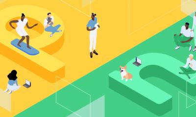 Node.js vs Python, featured image, illustration.
