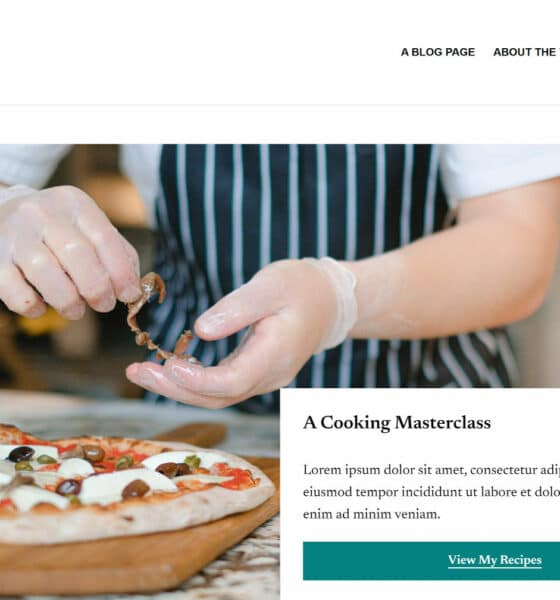 Spice Up Your Food or Recipe Blog With the Nutmeg WordPress Theme