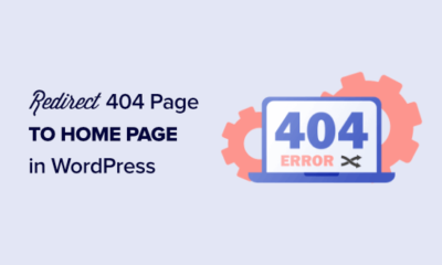 How to redirect your 404 page to the home page in WordPress