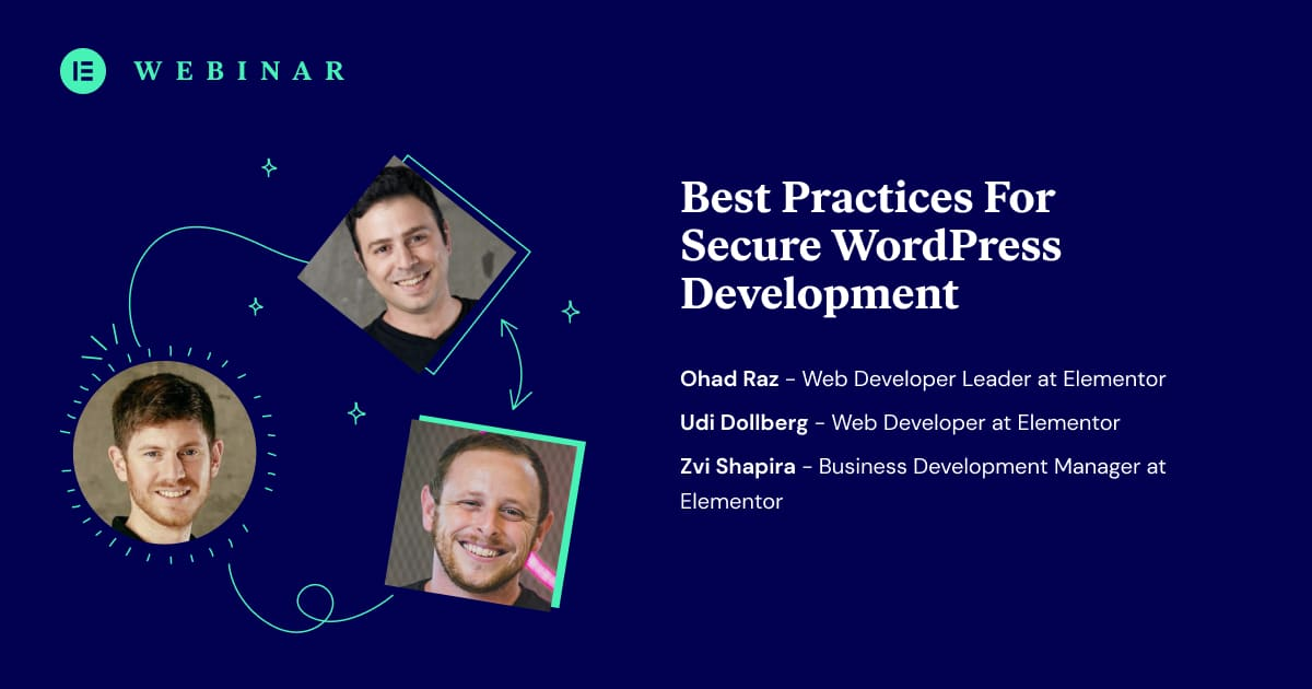 Secure Development Workflows Are a Must for Elementor Add-on Developers: Get the Inside Approach