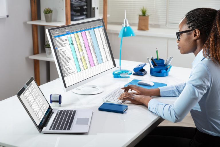 Learn to use Excel and other spreadsheet and data visualization tools.