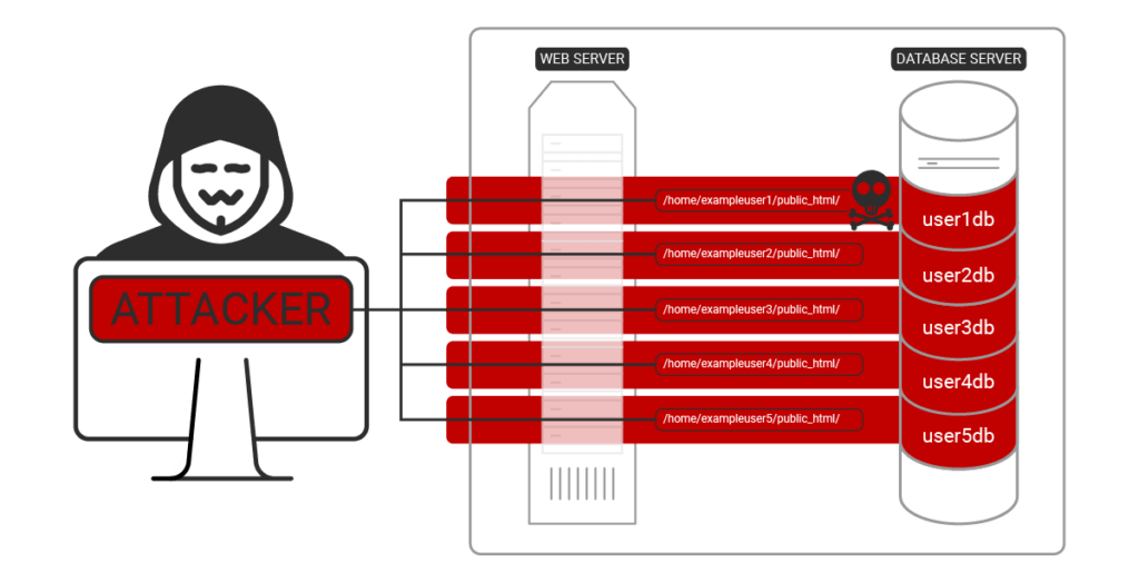 Image showing fully infected host