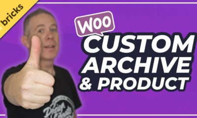 Custom WooCommerce Product Page & Archive Page   Bricks Builder