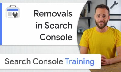 Removals in Search Console - Google Search Console Training
