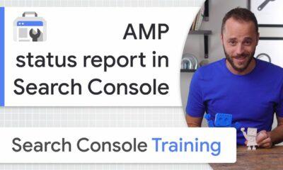 AMP status report in Search Console - Google Search Console Training