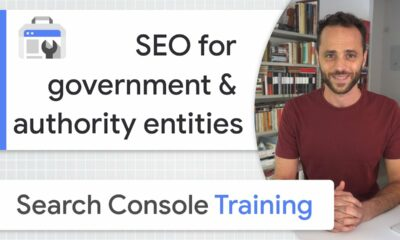 SEO for governments and authority entities - Google Search Console Training (from home)