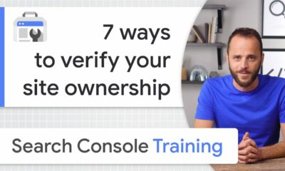 7 ways to verify site ownership - Google Search Console Training