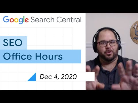 English Google SEO office-hours from December 4, 2020