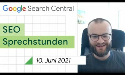 German / Google SEO Sprechstunden auf Deutsch vom 10. Juni 2021