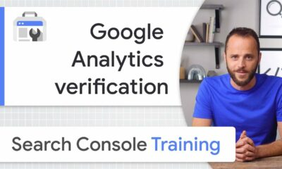 Google Analytics for site ownership verification - Google Search Console Training