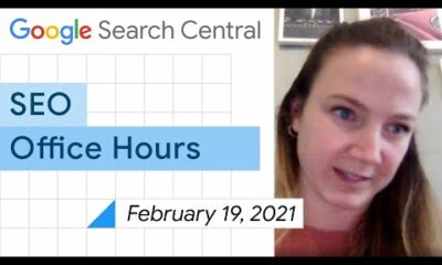 English Google SEO office-hours from February 19, 2021