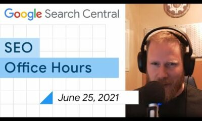 English Google SEO office-hours from June 25, 2021