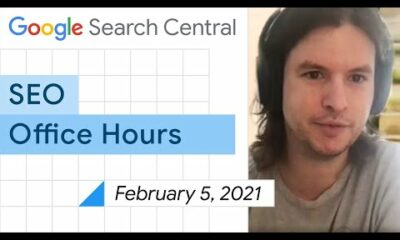 English Google SEO office-hours from February 5, 2021