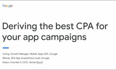 Deriving the best CPA for your app campaigns