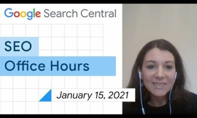 English Google SEO office-hours from January 15, 2021