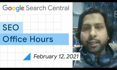 English Google SEO office-hours from February 12, 2021